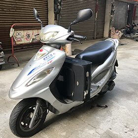 Scooters, motorbikes, cars and vans: rentals, sales & repair